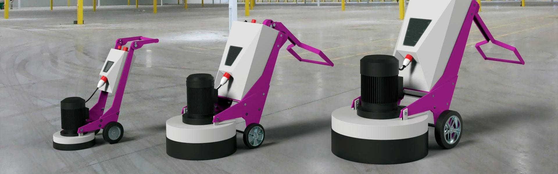 Оборудование для шлифования бетона